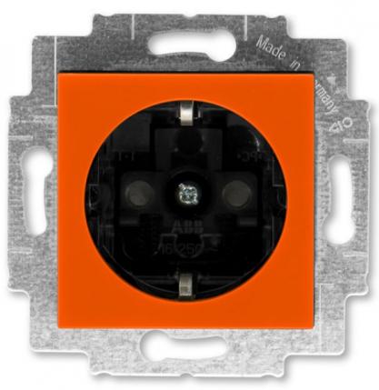 Оранжевый-дымчатый чёрный (пластик)
