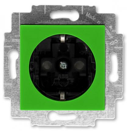 Зеленый-дымчатый чёрный (пластик)