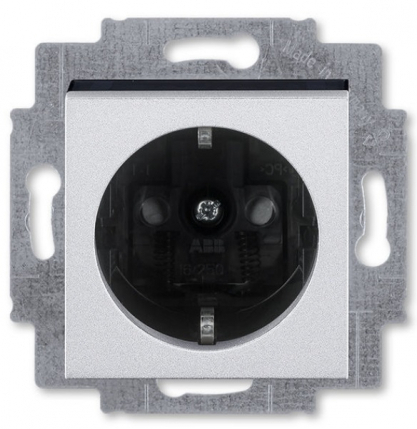 Серебро-дымчатый чёрный (пластик)